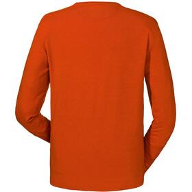 Schöffel Seiseralm Camiseta de manga larga Hombre, pureed pumpkin